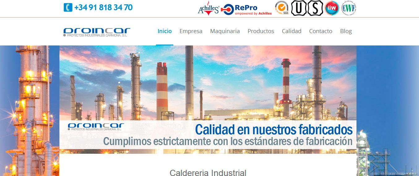 Calderería Industrial PROINCAR