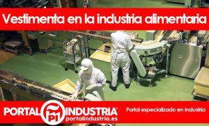 vestimenta en la industria alimentaria