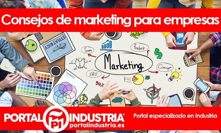 consejos de marketing para empresas